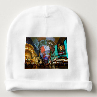 Lights Of Fremont Street Baby Beanie
