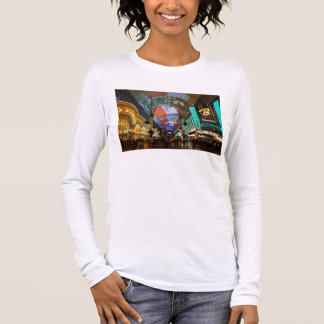 Lights Of Fremont Street Long Sleeve T-Shirt