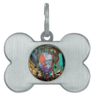 Lights Of Fremont Street Pet Tag