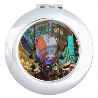 Lights Of Fremont Street Vanity Mirror
