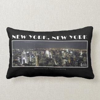 Lights of New York City Pillow