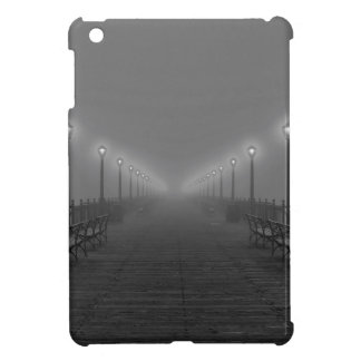 Lights on a pier. cover for the iPad mini