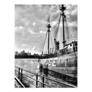Lightship Ambrose Photo Print