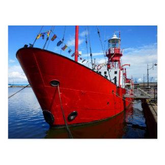 Lightship, Cardiff Bay, Cardiff, Wales Postcard