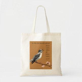 Lightweight Mockingbird tote