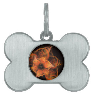 Lightworks Abstract Art Pet Name Tag