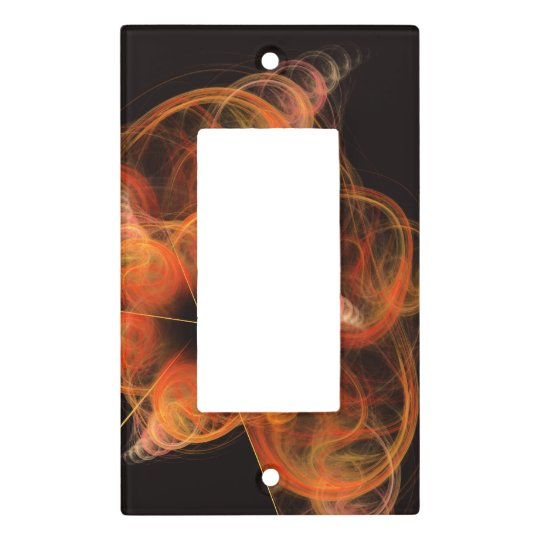 Lightworks Abstract Art Single Rocker Light Switch Cover