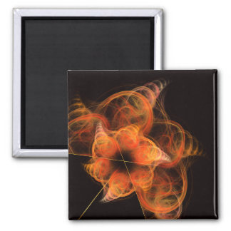 Lightworks Abstract Art Square Magnet
