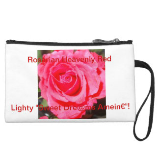 Lighty Sweet Dreams-baggi!* Suede Wristlet