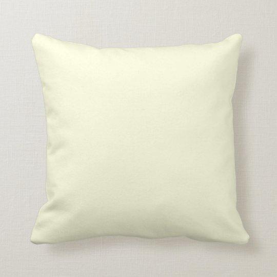 LightYellow American MoJo Pillow