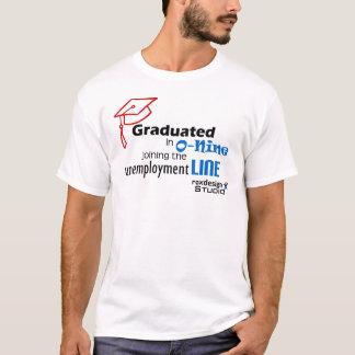 Ligne de chômage d'O-nine T-shirt