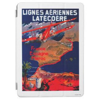 Lignes Aeriennes Latecoere Vintage Poster iPad Air Cover