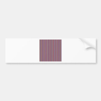 Lignes créatives rayures colorées de cadeaux du autocollant de voiture