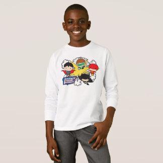 Ligue de justice de Chibi d'explosion de T-shirt