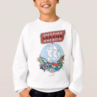 Ligue de justice de groupe de l'Amérique T-shirt