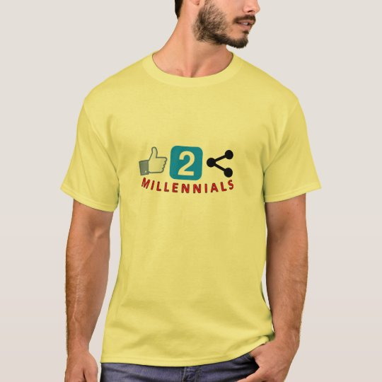 Like 2 Share Men's Millennial T-shirt