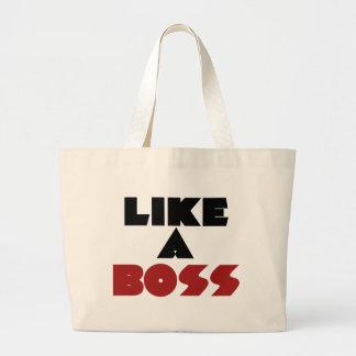 Like a Boss Canvas Bags