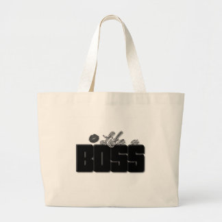 Like A Boss Black Bold lips Bags