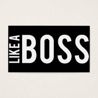 LIKE a BOSS Business Card