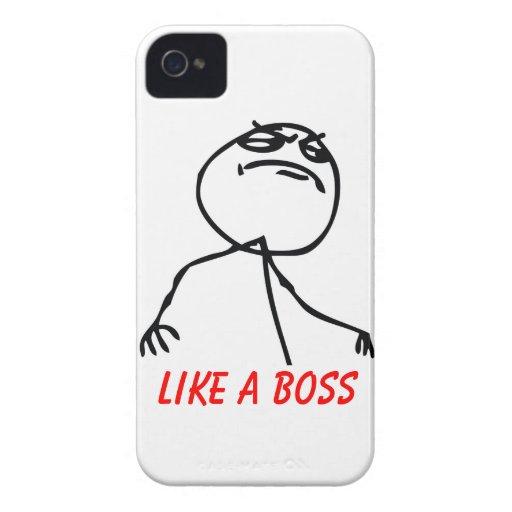 Like a Boss Case-Mate Blackberry Case