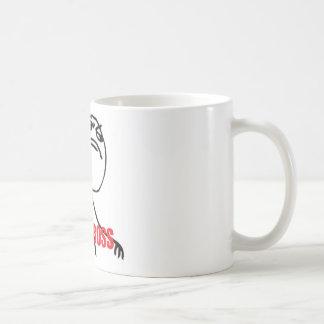 LIKE A BOSS CLASSIC WHITE COFFEE MUG