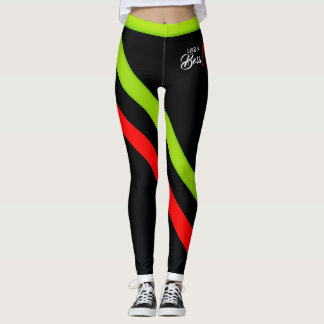 Like A Boss! Flourescent2 Leggings