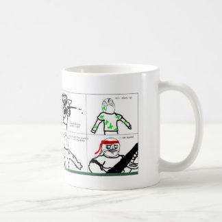 Like A Boss... I AM RAMBO!! Basic White Mug