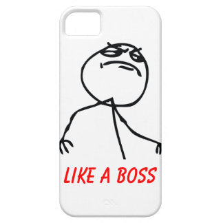 Like a Boss iPhone 5 Case