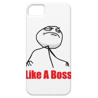 Like a boss iPhone 5 Meme case