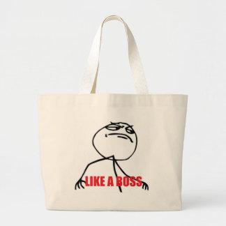 Like a Boss Jumbo Tote Bag