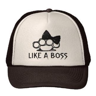 LIKE A BOSS-KnuckleBow Trucker Hats
