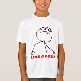 Like a boss meme face T-Shirt