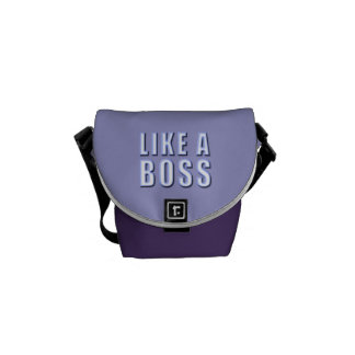 Like a Boss Messenger Bag