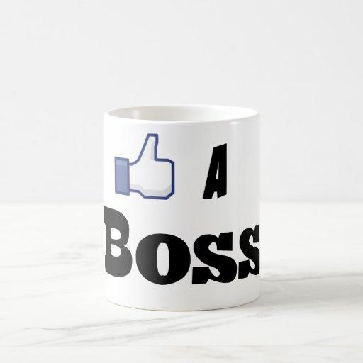 Like A Boss Coffee Mugs