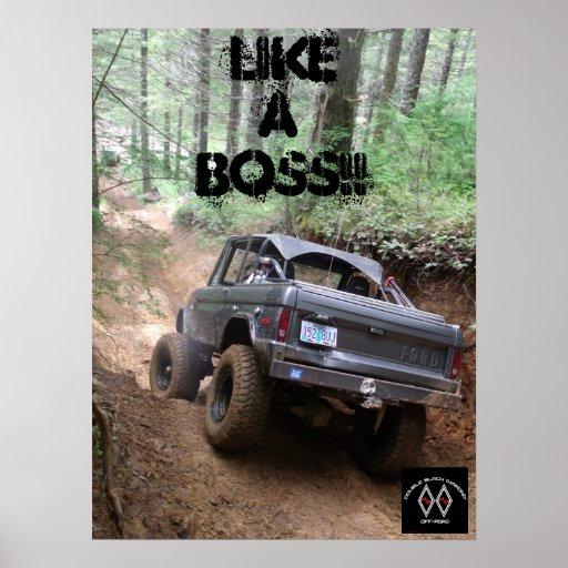 Like A BOSS!!! Poster