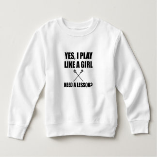 Like A Girl Lacrosse Sweatshirt