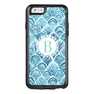 LIKE A MERMAID Watercolor Fish Scales | Custom OtterBox iPhone 6/6s Case