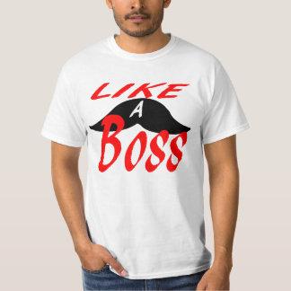 Like a mustache boss. T-Shirt