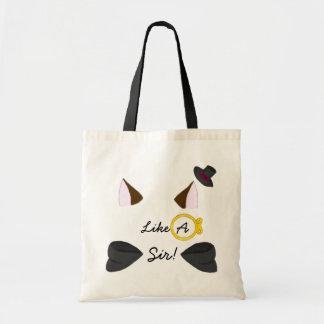 Like A Sir! Tote Bag