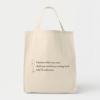"""Like an Infection"" Tote"