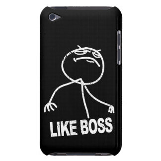 Like Boss meme Barely There iPod Case