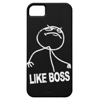 Like Boss meme Case For The iPhone 5