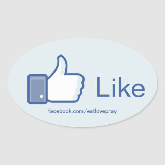 Like Button - Promotional stickers