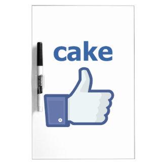 LIKE cake Dry Erase Board