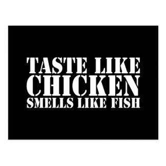 Like Chicken Postcard