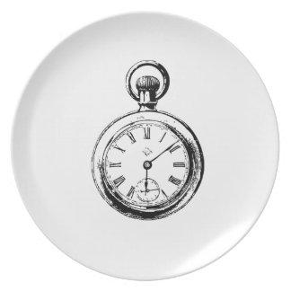 Like Clockwork Pocket Watch Illustration Plate