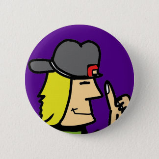 like dude ccartoon guy 2 inch round button
