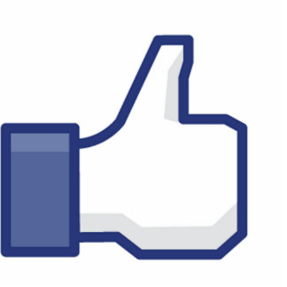 Like Hand - FB Thumbs Up Standing Photo Sculpture