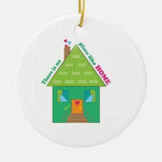 Like Home Ceramic Ornament