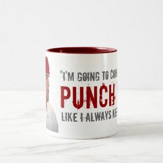 """""""Like I Always Keep Doing"""" Two-Tone Coffee Mug"""